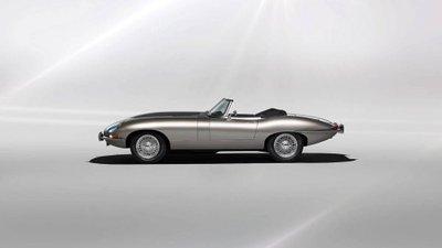 Jaguar E-Type trình làng phiên bản chạy điện 3