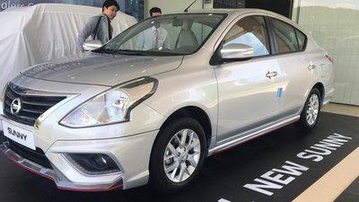 Nissan Sunny 2018 facelift bất ngờ xuất hiện, sắp ra mắt chính thức Việt Nam 1