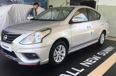Bỏ ra 12.360 USD, khách hàng Mỹ được sở hữu Nissan Sunny 2019 thiết kế mới a4