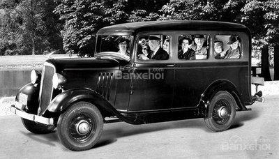 Chevrolet Suburban Carryall 1935.