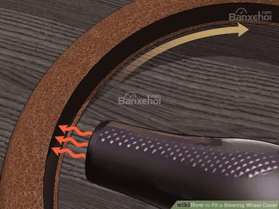 Hướng dẫn chi tiết cách bọc vô-lăng ô tô - nóng - 1