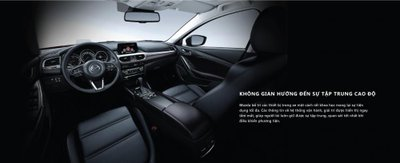 Nội thất Mazda 6 2018 đang mở bán tại Việt Nam...