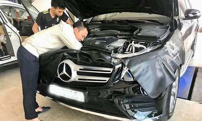 Mất 170 triệu sửa lỗi nước vào vi sai, chủ xe Mercedes-Benz GLC 300 4Matic bức xúc đòi kiện 1