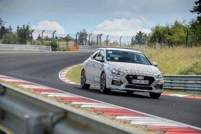 Hyundai i30 N Fastback hiệu năng cao dự kiến ra mắt vào cuối năm 2018 4.