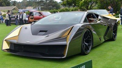 Siêu xe mới gây chú ý khi sử dụng nền tảng của Lamborghini Gallardo 2.