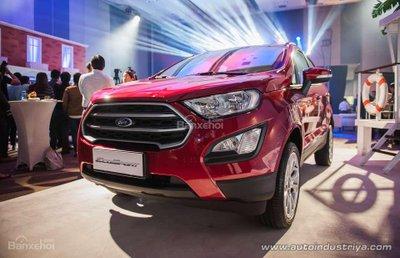 Ford EcoSport 2018 cập bến Philippines, không còn số ly hợp kép - 1