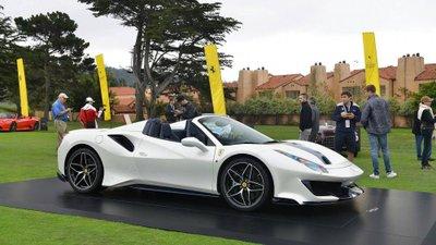Siêu xe Ferrari 488 Pista Spider chính thức ra mắt - Ảnh 1.