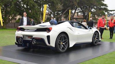 Siêu xe Ferrari 488 Pista Spider chính thức ra mắt - Ảnh 5.