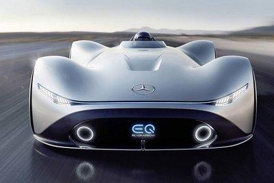 Siêu xe điện Mercedes EQ Silver Arrow concept tuyệt đẹp ra mắt.
