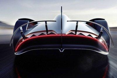 Siêu xe điện Mercedes EQ Silver Arrow concept tuyệt đẹp ra mắt - Ảnh 5.
