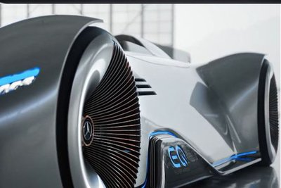 Siêu xe điện Mercedes EQ Silver Arrow concept tuyệt đẹp ra mắt - Ảnh 2.