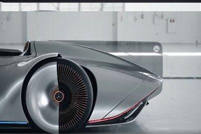 Siêu xe điện Mercedes EQ Silver Arrow concept tuyệt đẹp ra mắt - Ảnh 3.