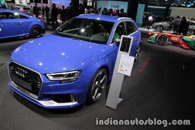 Audi RS 3 Sportback 2020 tung ảnh phác thảo 3