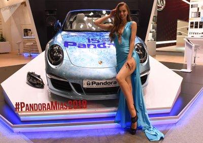Ngẩn ngơ ngắm mỹ nữ Nga khoe sắc tại triển lãm ô tô Moscow 2018 - Ảnh 3.