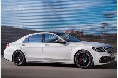 Mercedes-Benz S-Class 2018.