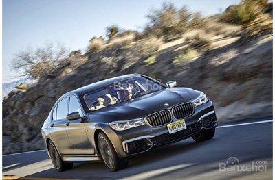 BMW 7-Series 2018.
