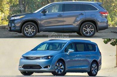 Khả năng vận hành của SUV tốt hơn nhiều so với minivan.
