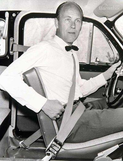 Volvo đóng góp lớn vào công nghệ đai an toàn trên xe hơi.