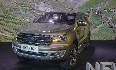 Ford Everest 2019 giá bao nhiêu