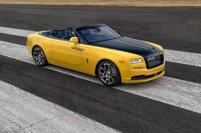Ngắm mẫu Rolls-Royce Dawn Black Badge ''''''''vàng chóe'''''''' nổi bật của lãnh đạo Google.