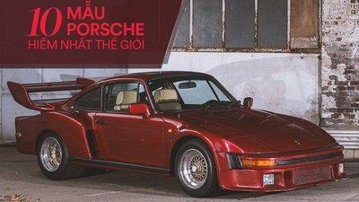 10 siêu xe Porsche hiếm có khó tìm nhất mọi thời đại 1.
