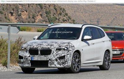 BMW X1 có thêm bản facelift với nội thất mới mẻ hơn.