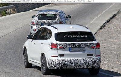 BMW X1 có thêm bản facelift với nội thất mới mẻ hơn 3