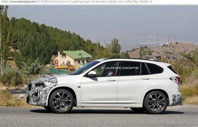 BMW X1 có thêm bản facelift với nội thất mới mẻ hơn 5