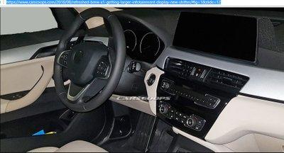 BMW X1 có thêm bản facelift với nội thất mới mẻ hơn 7