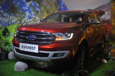 Ford Everest 2018 về Việt Nam nhưng không có phiên bản Ambiente.