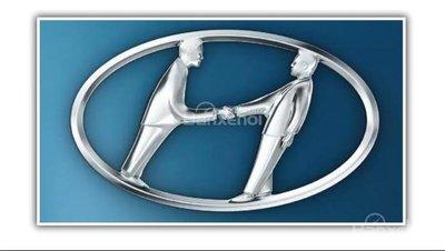 Logo Hyundai.