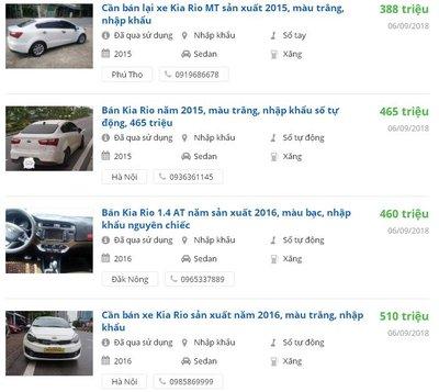 Kia Rio 2015 có đáng mua trong tầm giá 500 triệu? 3