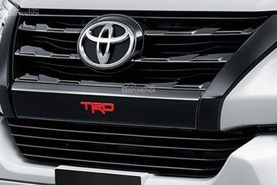 """Ảnh Toyota Fortuner TRD 2018 - Bản thể thao """"hot"""" TMV vẫn nợ khách Việt a10"""