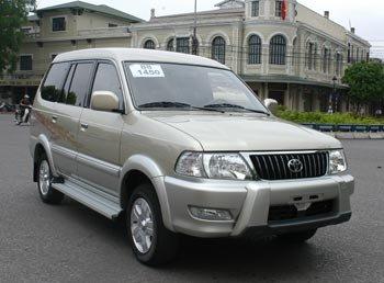 Toyota Zace được xem là một trong những chiếc SUV 7 chõ đầu tiên ở Việt Nam...