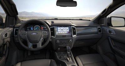 Nội thất thất xe Ford Ranger 2020