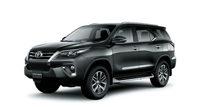 Ngoại thất Toyota Fortuner màu xám