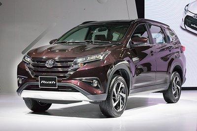 Bảng giá bán xe Toyota Rush cập nhật tháng 4/2019.