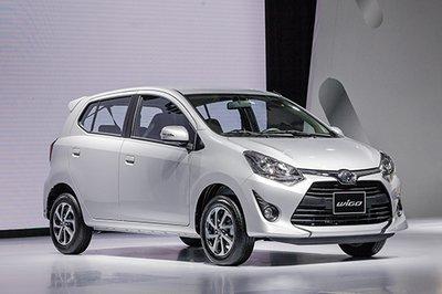 Bảng giá bán xe Toyota Wigo cập nhật tháng 4/2019.