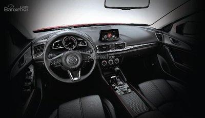 Nội thất Mazda 3 2018,,,