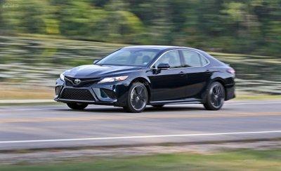 Đánh giá xe Toyota Camry XSE V6 2019 về mức tiêu hao nhiên liệu.
