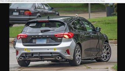 Ford Focus ST 2020 lộ ảnh thử nghiệm ở Mỹ 3