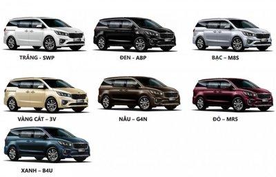 Trang bị trên 3 phiên bản của Kia Sedona 2019 có gì khác nhau?