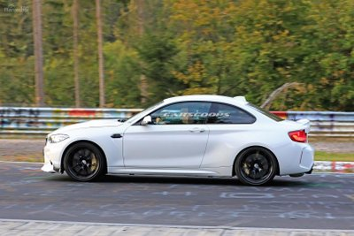 Ảnh chạy thử BMW M2 CS.