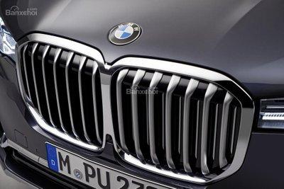 Ảnh chi tiết ngoại thất BMW X7 2018 a4