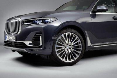 Ảnh chi tiết ngoại thất BMW X7 2018 a5