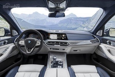 Nội thất BMW X7 2019..