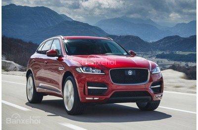 Jaguar F-Pace 2018.