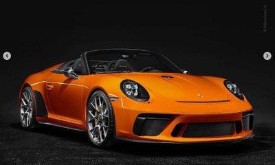 Porsche 911 Speedster thêm màu sơn mới, chuẩn bị sản xuất thương mại 5