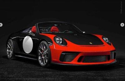 Porsche 911 Speedster thêm màu sơn mới, chuẩn bị sản xuất thương mại.