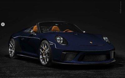Porsche 911 Speedster thêm màu sơn mới, chuẩn bị sản xuất thương mại 3